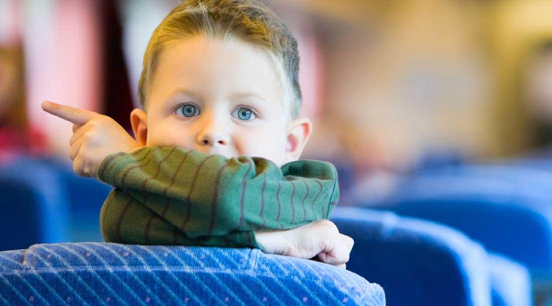 Поездка с ребёнком на автобусе