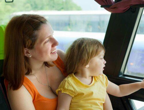 Как правильно путешествовать с ребенком на автобусе?