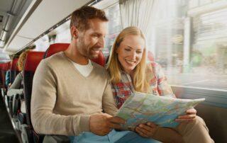 Путешествие на автобусе с комфортом