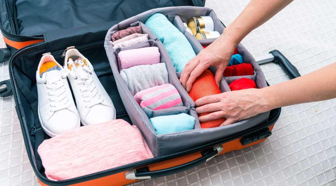 Собираем чемодан быстро